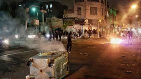 اعتراض ها به افزایش بهای بنزین در تهران