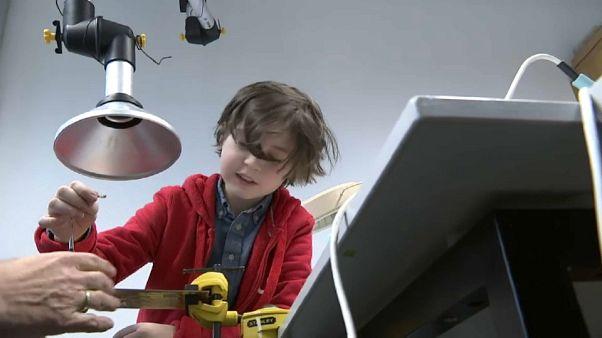 A világ legfiatalabb diplomása lehet egy 9 éves kisfiú