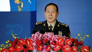 Çin Savunma Bakanı  Wei Fenghe