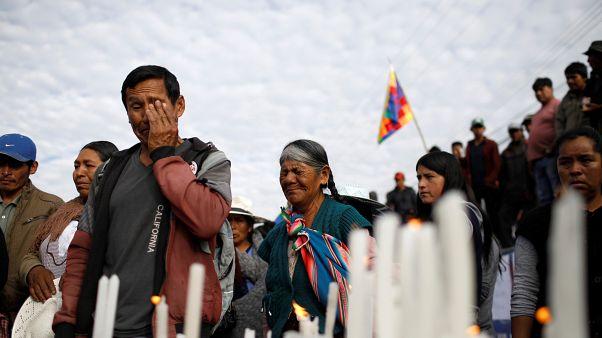 Bolivie : le deuil et les pénuries