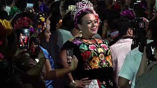 شاهد: احتفالات الجنس الثالث في جوشيتان المكسيكية في إحياء لتقاليد ضاربة في القدم
