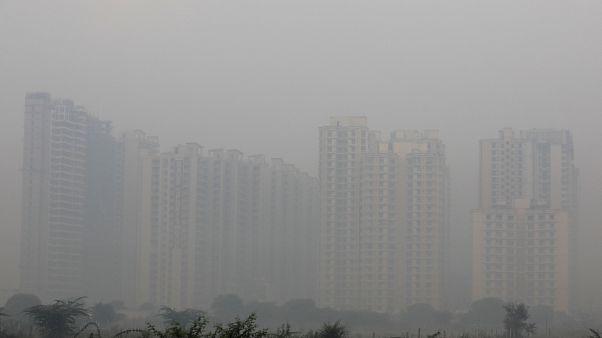 Niños de la India se comprometen contra el calentamiento global