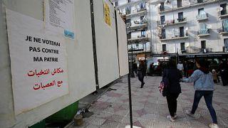 """Présidentielle en Algérie : """"On ne veut pas de ces élections"""" clament les manifestants"""