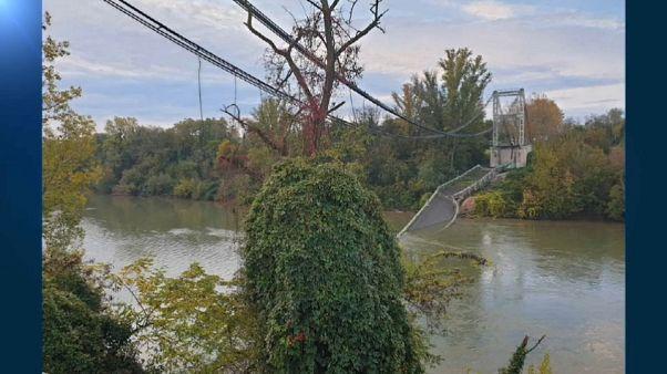 Brücke bei Toulouse stürzt ein: 15-Jährige kommt ums Leben