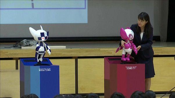 Tokio 2020 presenta sus mascotas robot