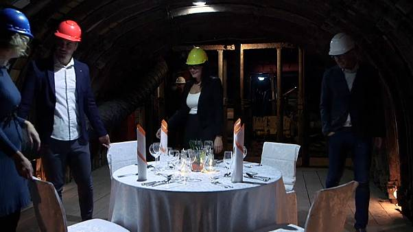 Watch: Mine and dine your date for €475 a head in Slovenia