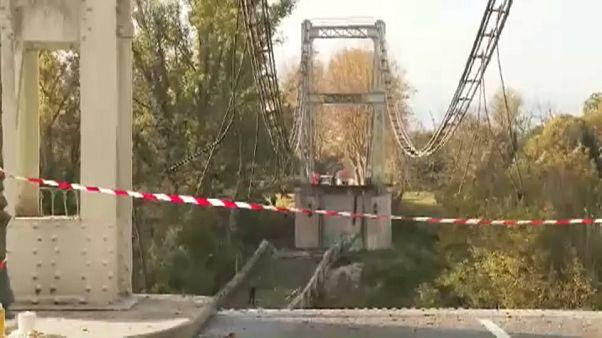 El puente derrumbado en Francia pasó las inspecciones