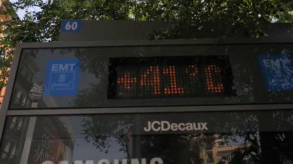 17-year-old man dies of heat stroke in Spain as heatwave grips Europe