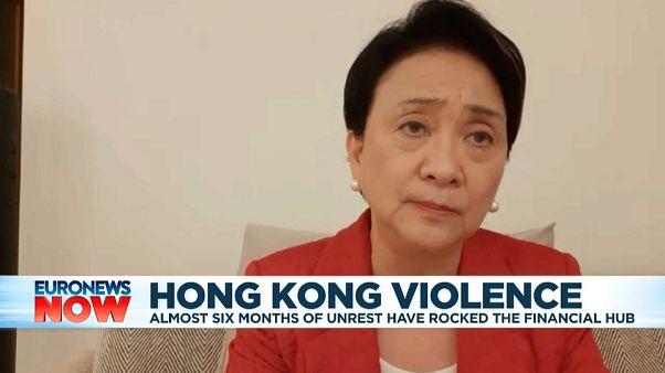 'UK should give passports to Hongkongers,' pro-democracy politician tells Euronews