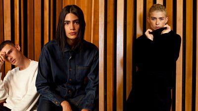 Brand portrait, models