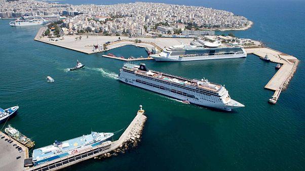 Μια ανάσα από την πρώτη θέση στη Μεσόγειο το λιμάνι του Πειραιά