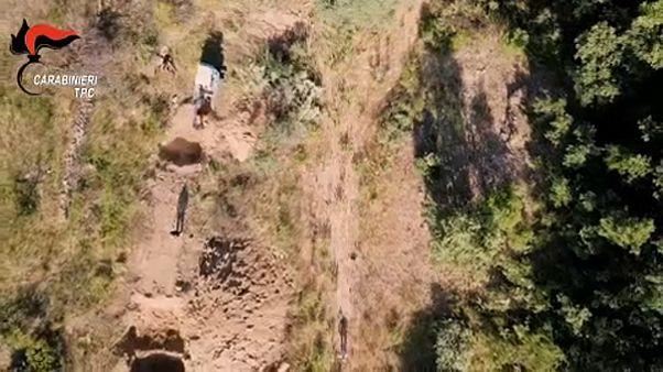 Ιταλία: Εξαρθρώθηκε κύκλωμα αρχαιοκαπηλίας