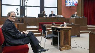 """Quim Torra jugé pour désobéissance : """"l'ordre était illégal"""""""
