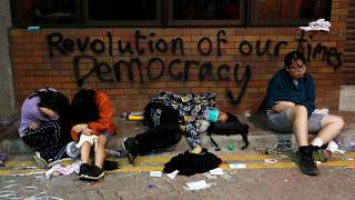 Troisième jour du siège de l'université polytechnique de Hong Kong : état des lieux