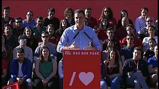 Spanish politicians rally supporters ahead of elections this weekend