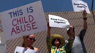 Más de 100.000 niños migrantes detenidos en Estados Unidos, según la ONU