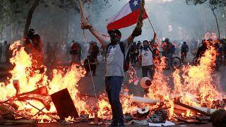 'Chile despertó', la situación un mes después del estallido social