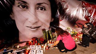 Festnahme im Mordfall der Enthüllungsjournalistin Caruana Galizia
