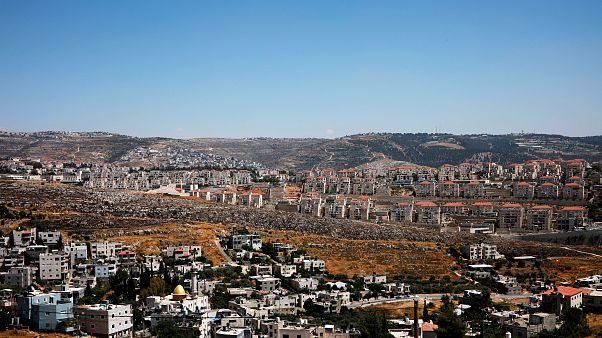 İsrail işgali altındaki Batı Şeria'da bir Yahudi yerleşim birimi