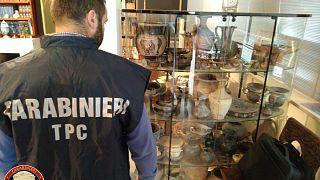 Elkapták az olasz elveszett ereklyék fosztogatóit