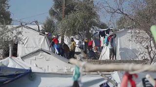 Kilátástalanság a túlzsúfolt menekülttáborban, Morián