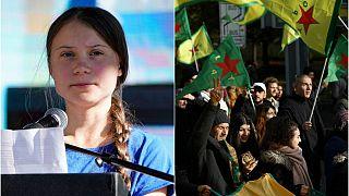 Time Dergisi'nin 'Yılın Kişisi' aday listesinde Suriyeli Kürtler ve Greta Thunberg de yer aldı