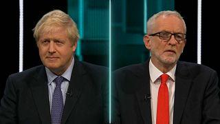 El Brexit tema estrella del primer debate Johnson-Corbyn