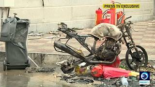 Brutal represión de las protestas contra la subida de precios de los combustibles en Irán