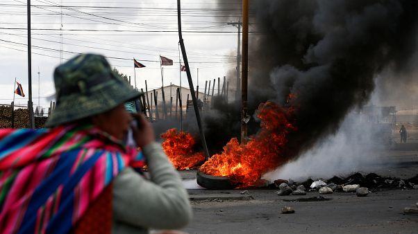 Baño de sangre en Bolivia, con tres muertos por bala y decenas de heridos