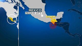 Un fuerte terremoto sacude el estado de Chiapas, en el sur de México