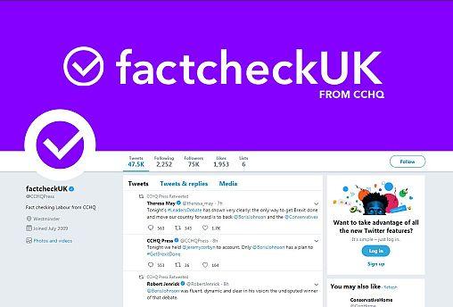 Conservatives under fire over 'Factcheck UK' Twitter rebranding | #TheCube