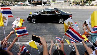 Papa'dan Tayland'a 35 yıl sonra ilk ziyaret: Gündemde insan kaçakçılığı ve cinsel sömürü var