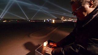 Rafael Lozano crea una instalación de latidos y voces en la frontera