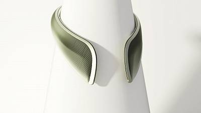 The Atmosphère Collar is a wearable device designed to provide environmental protection