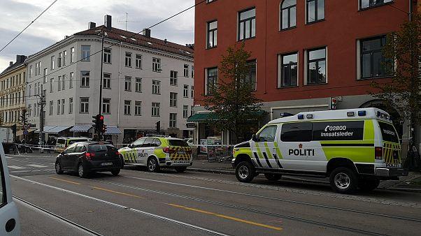 سيارتان للشرطة النرويجية في العاصمة أوسلو - تشرين الأول/أكتوبر 2019 -