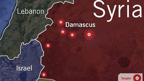 Israel feuert Raketen auf Syrien und zielt auf den Iran