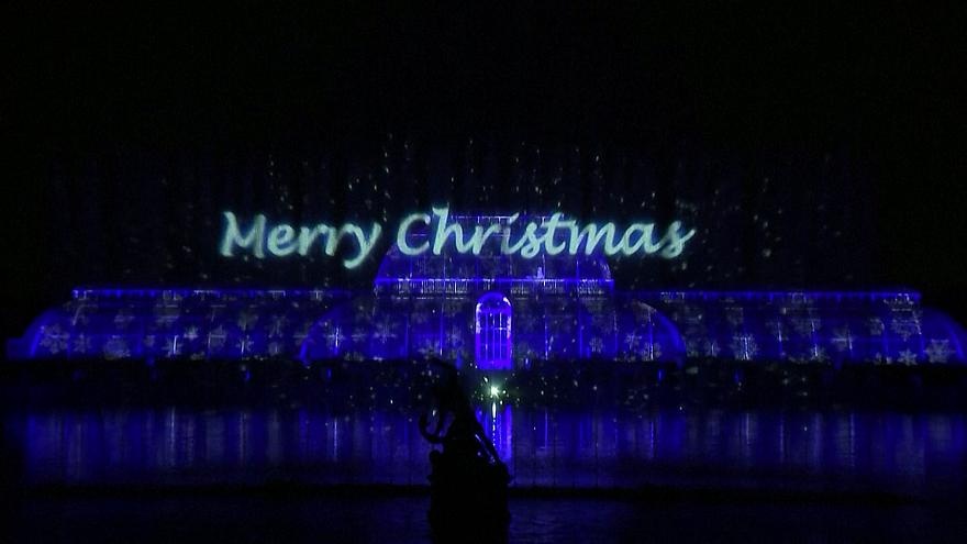 Londra: i Royal Botanical Gardens illuminati per Natale