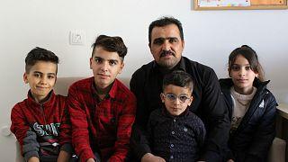 Ankara'da yaşayan Iraklı mülteci aile