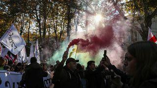 Акция оппозиции в Тбилиси 17 ноября 2019