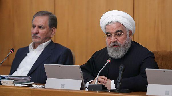 Az USA szította az iráni tüntetéseket Rohani szerint
