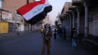 احتجاجات العراق خلفت الآلاف من المعوقين
