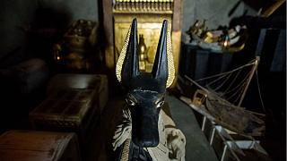 Tutanhamon fáraónak még lábujjait is aranytokok védték