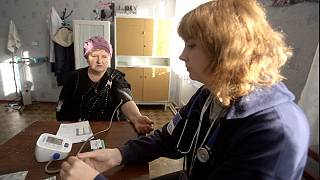 Felperzselt egészségügyi ellátás Kelet-Ukrajnában