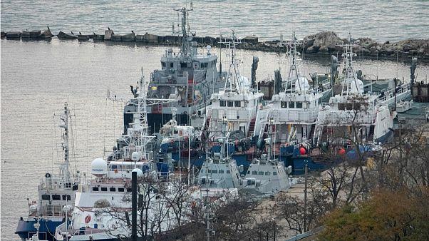 اوکراین: کشتیهای پس داده شده توسط روسیه در وضعیت بسیار بد قرار دارند