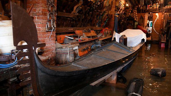 El negocio de las góndolas se ahoga en Venecia