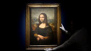 """552.000 euros por uma Mona Lisa """"falsa"""""""