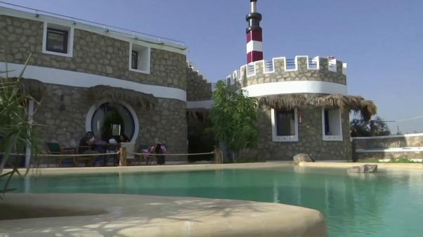 Egyptian man builds eco-friendly home using only recycled material