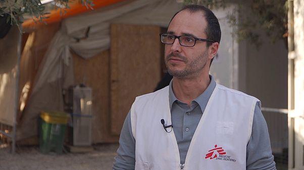 MSF teme que la detención de refugiados en Grecia continúe