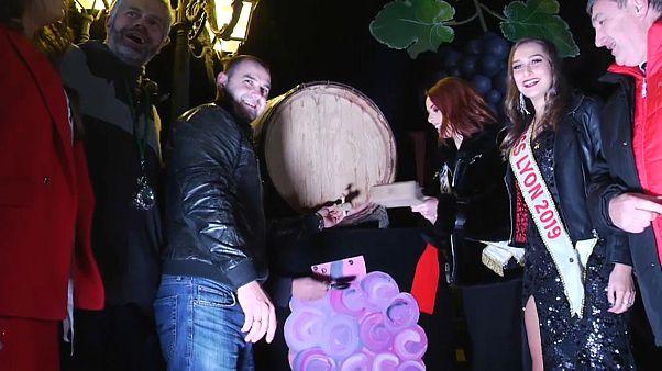 Da tutta Europa per la notte del Beaujolais Nouveau