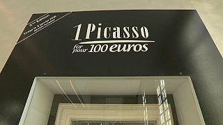 Париж: 100 евро за Пикассо